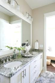 bathroom countertops designs with white and grey granite the