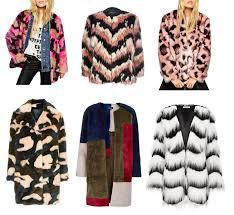 fun faux fur coats