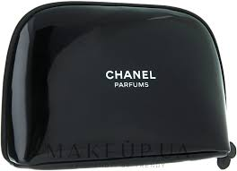 Chanel Parfums - <b>Косметичка</b> на молнии, черная <b>лаковая</b>: купить ...