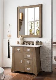 james martin pasadena single 36 inch warm taupe vanity cabinet optional countertops 3cm snow white quartz