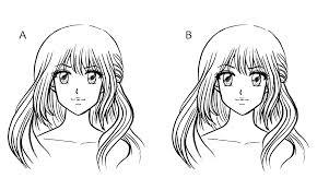 Manga Semplici Da Disegnare Ein Anime Gesicht Zeichnen Migliori