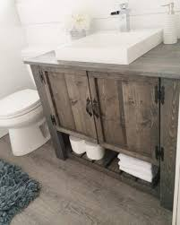 Rustic Bathroom Vanities Ideas 3 Double Rustic Vanity Bathroom