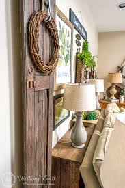 Image Rustic Farmhouse How To Build Rustic Sofa Console Table Worthing Court How To Build Rustic Sofa Table Worthing Court