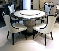 rotating dining table restaurant furniture round with