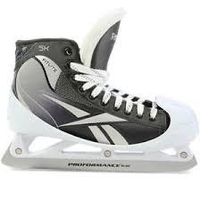 reebok 50k skates. new reebok 5k senior ice hockey goalie skates size 8 10 11 12 50k