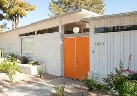 modern front door orange. Orange Front Door Mid Century Modern Colors .