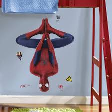 Spiderman Bedroom Decorations Similiar Spider Man Giant Wall Decal Keywords