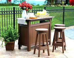 build your own patio bar image of how to an outdoor a table billiards fun decor this outdoor bar
