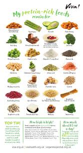 Protein Rich Foods Wallchart Resources Viva Health