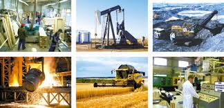 Развитие техники и технологий Труд Реферат доклад сообщение  Рис 3 Промышленные предприятия а производство изделий из древесных материалов б добыча нефти в добыча железной руды г плавление металла