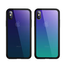 bakeey grant color scratch resistant tempered glass protective case for iphone x 8 8 plus 7 7 plus 6s 6s plus 6 6 plus cod