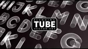 Blending Vector Art Adobe Illustratorphotoshop Tube