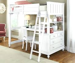 loft bed with storage and desk image of twin loft bed with desk and storage white