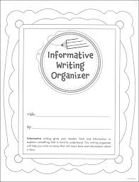 informative writing organizer grades details  informative writing organizer grades 2 3 main photo cover