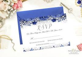 How To Reply To Wedding Rsvp Card Spanish Rsvp Card Quinceanera Rsvp Wedding Details Card