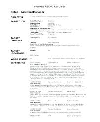 Good Objectives In A Resume Objective Resume Template Examples Of ...
