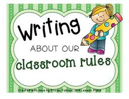 classroom rules template writing about classroom rules templates and prompts students