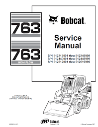 bobcat 763 wiring schematic bobcat image wiring bobcat 763 763 high flow service manual pdf repair manual on bobcat 763 wiring schematic