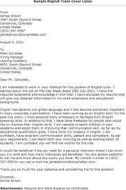 Cover Letter For English Teacher Job Piqqus Com
