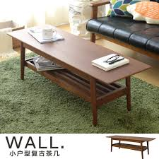 retro coffee table. Small Japanese Style Retro Coffee Table Living Room Tatami Wooden Storage Low Minimalist Modern Tea A