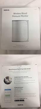 nokia wireless blood pressure monitor. blood pressure monitoring: nokia bpm \u2013 wireless monitor , new open box -