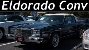 1983 Cadillac Eldorado Convertible - Tour [4k] - YouTube