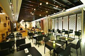 Modern Elegant Thai Restaurant Interior Design SEA Las Vegas Diningroom