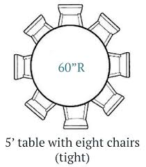 cottage home 5ft round farmhouse table 8 chairs