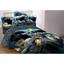 4 Piece Toddler Batman Bedding set for boy bedding idea
