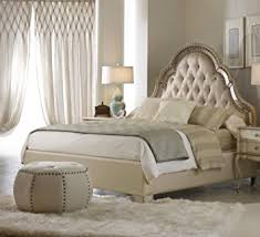 Amazon Hooker Furniture Sanctuary Upholstered Bed in Pearl