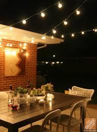 brilliant 18 patio lights string ideas image