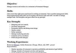 Food Service Skills For Resume From Job Qualifications Examples For