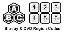 Region Codes Blu Ray Dvd Region Codes Explained