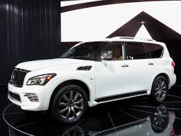 infiniti qx80. helping bridge the price gap between base 2017 qx80 that starts at $64,845 and range-topping limited kicks off $90,445, signature infiniti qx80