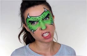 green monster tutorial 31 cool face painting