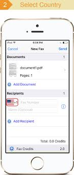 Document Fax Snapfax Snap To Fax Send Fax From Iphone Android Mac