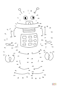 047003992fa89903c54edba2c5f73198 robot super coloring astronaut pinterest coloring, dots on space worksheets for kids