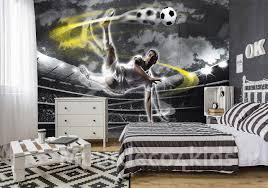 Voetbal Fotobehang Voetballer Xl Muurdeco4kids