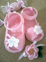 Crochet Baby Sandals Pattern New Crochet Pattern For Baby Christening Shoesandle