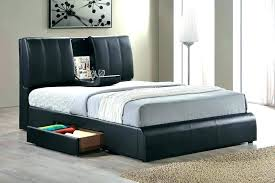 Queen Size Bed With Drawers Modern Frame Image Of Storage Underneath ...