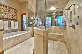 luxury master bathroom suites. Traditional Master Bathroom With Walk-in Shower And Corner Tub. Luxury Suites