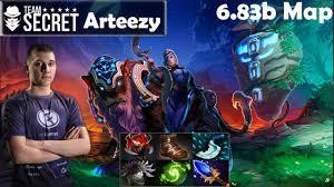 arteezy secret luna pro gameplay mmr dota 2 pro youtube