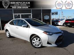 2017 Used Toyota Corolla LE CVT at Birmingham Luxury Motors, AL ...