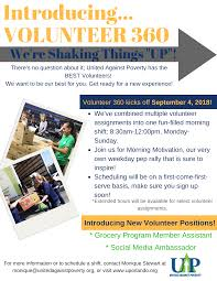Volunteer To Make A Difference United Against Poverty Orlando