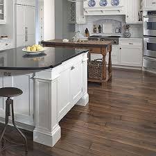dark walnut kitchen cabinets white kitchen with walnut floors