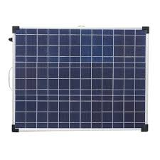 Folding Solar Light Elfeland Afc 12018 100w 18v Aluminum Frame Folding Polycrystalline Solar Panel With Controller
