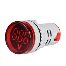 New <b>3pcs Red ST16VD 22mm</b> Hole Size 6-100 VDC Digital ...