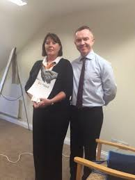 "Katherine Webster on Twitter: ""@HC_One turn around manager Francine Summers  receiving Kindness in Care award from Ops Director Liam Jennings  https://t.co/vc5tDkdfaP"""