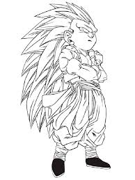 Small Picture Gotenks Super Saiyan 4 Coloring PagesSuperPrintable Coloring