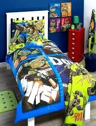 teenage mutant ninja turtles bedroom set bed modern bedding tmnt comforter twin bedding set
